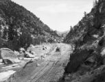 Motorcar in Browns Canyon