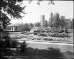Sunken Garden and West High School, Denver