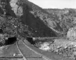 Bridge 296B on eastbound main track of the D&RGW on the west side of Tennessee Pass near...
