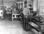 Machine Shop in Cushman Bldg.