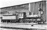 Old locomotive (Denver & Rio Grande No. 501 4-6-0)