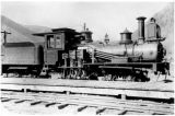 "Side Gear Locomotive, Rio Grande Southern, Silverton RR, Shay ""Guston"""
