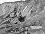 Hydraulic gold mining near Dutch Flats, California, C. P. R. R.