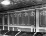 View of sidewall panels - Auditorium