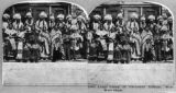 Large group of Cheyenne Indians, Wild West Show
