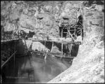 Shoshone, intake of tunnel
