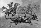 Custer's last battle, unhorsed