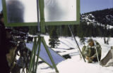 Filming in Sun Valley, Idaho for MGM training film