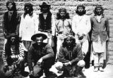Identified as Apache Indians, San Carlos, views of Arizona scenery and th Apache Indians in their...