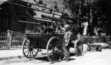 Silver Plume hand pumper purchased - 1885