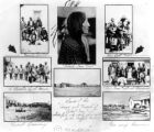 "Scenes from the ""Home and Funeral"" of ""Cheif [i. e. Chief] Iron Tail"" whose..."
