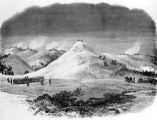 Montana Territory- The Sioux campaign- The Battle of Wolf Mountains, January 8th between the...