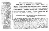 The Lord's Prayer in the Cherokee language