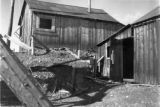 Shack at Matchless mine, Leadville where Baby Doe Tabor spent her last years