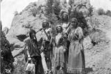 White men and women dressed as Native Americans