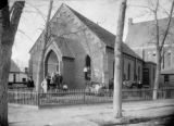 St. James Methodist Church at 9th & Colfax N. E. Corner
