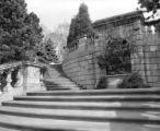 Ancient Roman influence seen thru parklike grounds