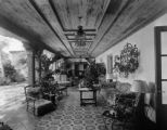 Spanish patio - Denver residence (may be Evans house)