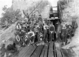 Miners at Gilsonite Mine