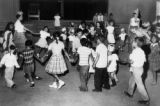 Birthday party at Ft. Lupton migrant camp