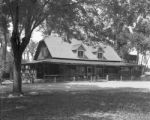 Caretaker's house at Overland Park