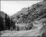 Ouray-Silverton stage road