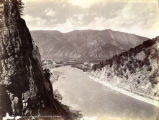 Glenwood Springs from the canon