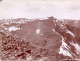 Panorama from Grays Peak, northwest