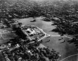 Aerial view of Cheesman Park