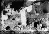 Cliff Palace, center rooms, west end, Mesa Verde, Colo.