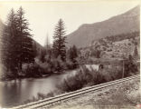 The Eagle River at Sherwood. Glenwood Extension D.& R.G.R.R.