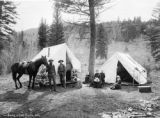 Camp at Fall Creek, Colo.