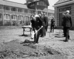 Ground breaking at Swedish Hospital