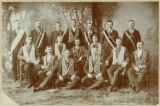 Officers and members of Mt. Ouray Lodge #140, B. of L. T.