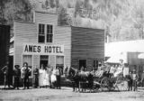 Ames Hotel, early 1880's