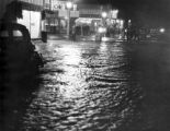 Montrose flood Sept. 3, 1938 caused by cloud burst in hills east of town