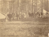 Engineering Corps camp, Montana