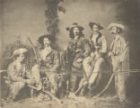 Wild Bill Hickok, Buffalo Bill, and group