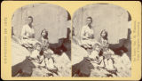 Navajoe squaws and child