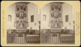 Altar, Church of San Miguel, Santa Fe, N.M.