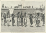 "Indian ""Tablet Dance"" at Santo Domingo, New Mexico"