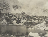 Kearsarge Pass from Chain of Lakes