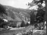 Site of Bailey Mill Dam, Eldora 1900