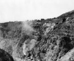 Gilman, Colo., zinc mine below it