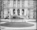 Closing Era statue, Capitol grounds, Denver