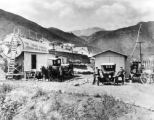 Manitou Springs Texaco fuel depot