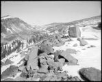 Summit of Rollins Pass, Pacific Sloap [sic], Moffat Road