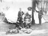 John Nelson, Squaw man and family