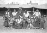 Sioux Chief Iron Tail with group of Native American women