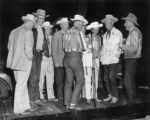 Evening hi jinks at Estes Park Frank Johns, Hal Dahl, J. Parker, Paul Holmes, Jim Russell, Harry...